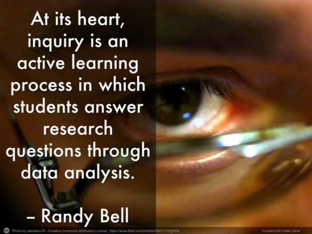 Simplifying Inquiry Instruction