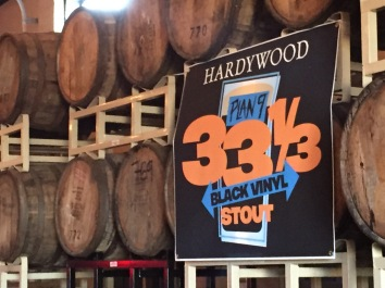 Hardywood Plan 9 33-1/3 Black Vinyl Stout